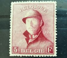 Belgium COB/OBP 177 * MH - Roi casqué / Albert I met helm - centré cote 122+70%