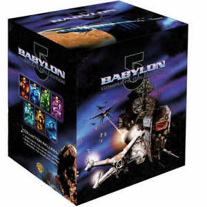 Babylon 5 Complete Series Season 1 2 3 4 5 ✅Movie Collection DVD Box Set 39 Disc