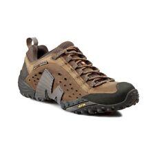 New Merrell Intercept J73705 Men Medium Moth Brown Hiking Shoes All Sizes