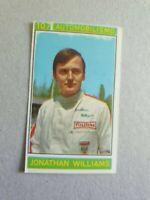 Panini Campioni Dello Sport (1967-68) No 107 Jonathan Williams (Motor Sport)