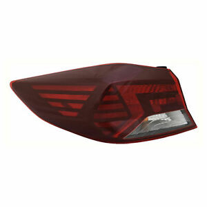 FIT FOR HY ELANTRA US BUILD 2019 2020 REAR TAIL LAMP OUTER LEFT DRIVER