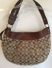 Coach Extra Large Shoulder Bag Brown Canvas 18