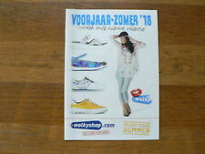O299 BROCHURE WOLKY SHOP 2018 DUTCH 16 PAGES FOLDED SHOES SCOOTER VESPA ?