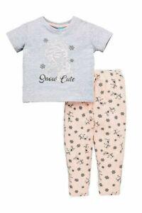 BNWT Girls Frozen Pyjamas - Ages 5-10 Years - Free 1st Class Postage