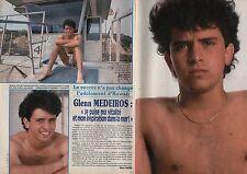 Coupure de presse Clipping 1988 Glenn Medeiros  (2 pages)