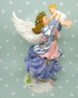 Angels Beside Me JULIA GUARDIAN OF THE CHILD Figurine Nutshell Designs No Box