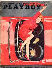 Playboy august 1963 ed.USA Phyllis Sherwood Gillian Tanner
