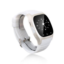 New Bluetooth Smart Watch For Android & IOS Devices Built in Mic & Speaker White