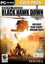 Delta Force: Black Hawk Down Gold Pack (PC).