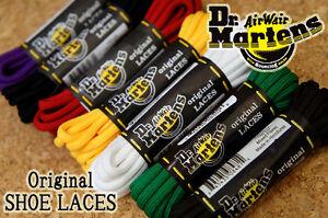 Dr Martens Shoelaces Shoe Laces Authentic Genuine Replacement Bootlaces Doc