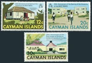 Cayman 328-330 blocks/4,MNH.Michel 327-329. University of West Indies,1974.