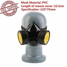 Emergency Survival Safety Respiratory Gas Mask With 2 Dual Protection Filter WP