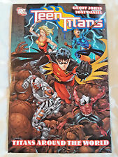 Teen Titans Around the World Dc Comics Graphic Novel Geoff Johns Tony Daniel Tpb