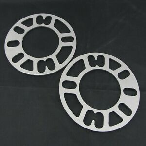 "(2) 1/8"" Inch 5x4.75 Flat Wheel Spacers 