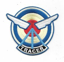 """Overwatch Video Game Agent Tracer Logo Embroidered 3.75"""" Patch"""