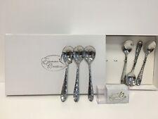Bomboniera matrimonio nozze d'argento set 6 pezzi cucchiaio moka