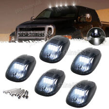 5PCS Smoke Lens White 6k LED Cab Marker Light For 2003-2016 Dodge Ram 2500 3500
