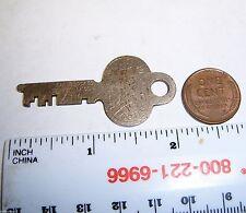 Eagle Lock Co Key Lyon Metallic MFG Co Aurora ILL 93PX2098 Cabinet Key  L13