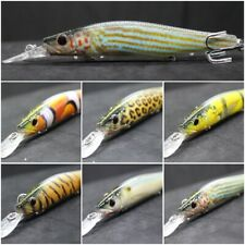 wLure 13.3cm 19.7ml Pez Pequeño Señuelo Jerkbait Realista Pesca Señuelos HM629