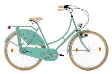 """Damenfahrrad Hollandrad 28"""" Tussaud Mint Matt 3 Gänge RH 54 KS Cycling 331H"""