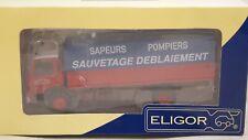 ELIGOR - BERLIET -  SAPEURS POMPIERS SAUVETAGE ET DEBLAIEMENT  - 1/43