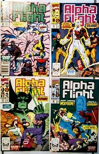 ALPHA FLIGHT #87 --#90 NM all four great ( JIM LEE ) WOLVERINE issues !!!!!!