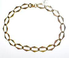 ECHTES Silber 925 Halskette Collier - Vergoldet mit 24Karat Gold 5µ - Neuheit !