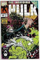 The Incredible Hulk #385 Infinity Gauntlet Crossover NEAR M (1991) Marvel Comics