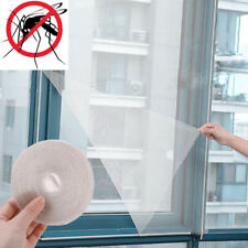 White Window Screen Mesh Net Insect Fly Bug Mosquito Moth Door Netting Home AU.