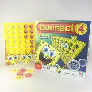 Milton Bradley 2008 Nickelodeon SpongeBob SquarePants Connect 4 Complete