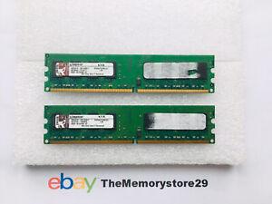 4GB 2 x 2GB  DDR2 PC Desktop Memory RAM Modules PC2-5300 667MHz DIMM Non ECC
