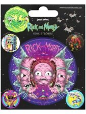 Rick and Morty Sticker Pack Psychedelic Visions Sticker Set