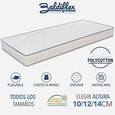 COLCHÓN PLEGABLE DE ESPUMA POR SOFA CAMA PLEGABLE CAMPER HOTEL BALDIFLEX