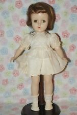 "Pretty! Vintage 14"" Early Sweet Sue Hard Plastic Strung Doll"