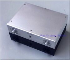 DIY Aluminum preamplifier Chassis  case preamp Enclosure BOX 260*62*190mm