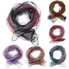 Bufandas y pañuelos de mujer de color principal rojo de seda