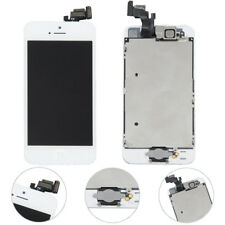 For iPhone5 Screen Replacement LCD Display Touch Digitizer Home Button White