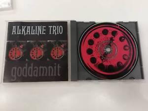 ALKALINE TRIO GODDAMNIT CD 1998