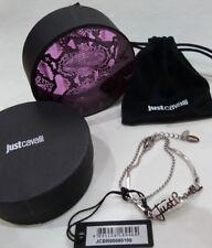 Just Cavalli Logo Bracelet - Stunning- Boxed Genuine