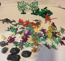 Lot of 70+ Dinosaur Figures Various Types and Sizes Play Education Toys