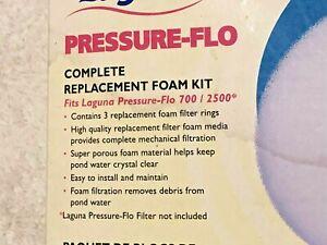 Laguna Pressure Flo 700 / 2500 Complete Filter Foam Kit Set