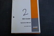 CUSTODIA 855 Motor Grader Owner Operator Maintenance Manual book guide road 2002