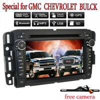 For GMC Sierra 1500 2500HD 3500HD Car Radio DVD Player GPS Navi Stereo+CAM+Map