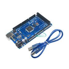 2PCS ATMEGA2560-16AU ATMEGA16U2 Board Module + USB Cable For MEGA 2560 R3