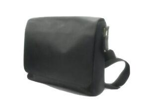 John Lewis Leather Cross Body Bag, Black RRP99