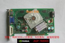 Original AGP GeForce 7600GS 512MB GDDR2 video card