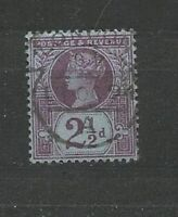 Queen Victoria GB 2 1/2d purple on blue  Old Stamps  Briefmarken Sellos Timbres