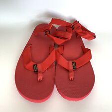 Teva Original Iniversal Men's Sport Sandals Size 13 Red Flip Flops New