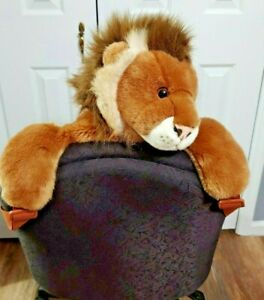 AURORA WORLD PEEPLE PEOPLE PALS Lion Plush Full Size Childs Backpack Realistic
