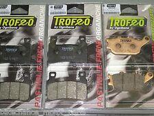 kit pastiglie Trofeo anteriori + posteriori Honda CBR 600 F 1999-2007 PC35